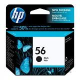 HP Black Ink Cartridge 56 [C6656AA]